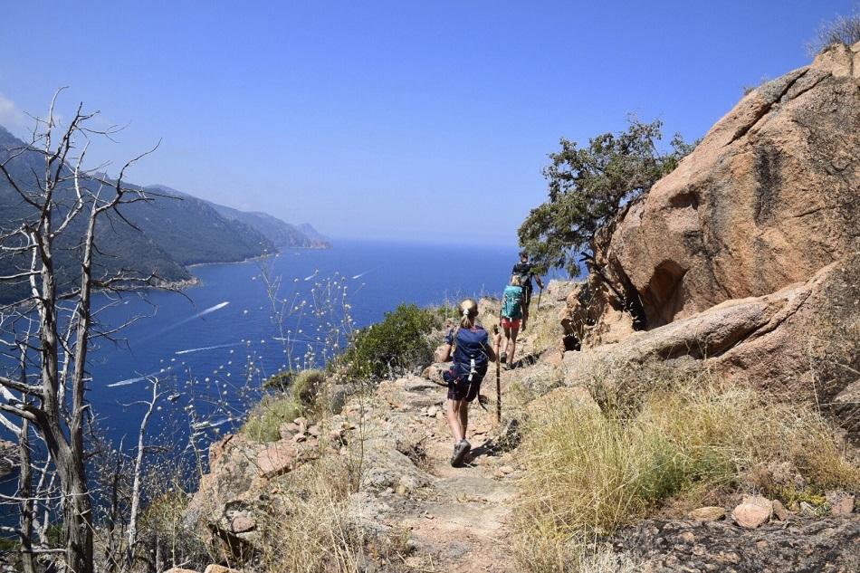 Rando en Corse et baignades en rivieres