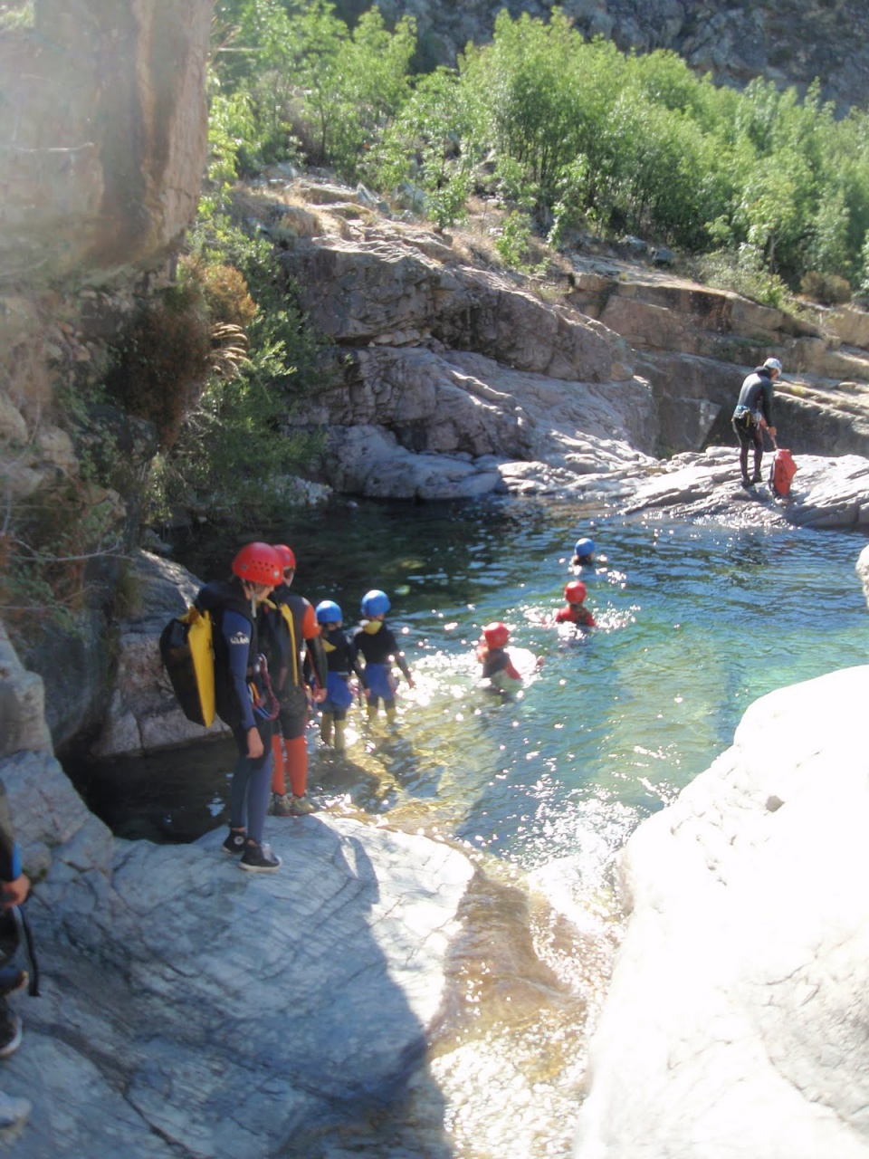 canyoning couleur corse